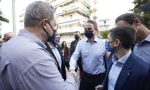 Στο Γαλάτσι ο Κυριάκος Μητσοτάκης: «Σήμερα είναι μία μέρα γιορτής για τη Νέα Δημοκρατία»
