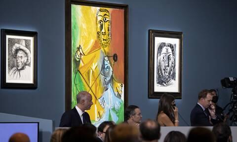 Πικάσο: Έντεκα έργα του εμβληματικού ζωγράφου δημοπρατήθηκαν για 108 εκατομμύρια δολάρια