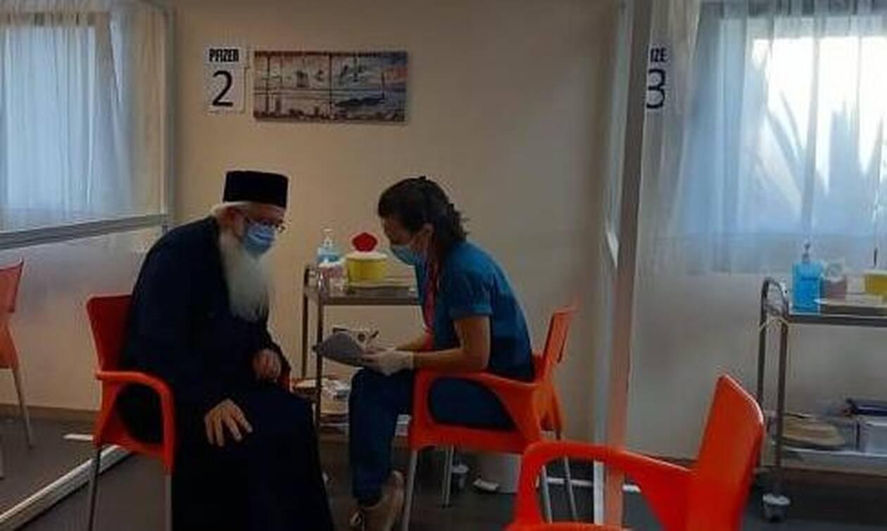 Δημητριάδος Ιγνάτιος: Το εμβόλιο είναι δώρο Θεού - Πρέπει να δημιουργήσουμε την ανοσία (vid)