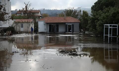 Καιρός ΤΩΡΑ: Αγωνία ξανά στην Εύβοια! Έντονη βροχή στο Δήμο Μαντουδίου Λίμνης Αγίας Άννας