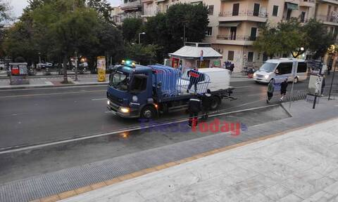 Θεσσαλονίκη: Κιγκλιδώματα και αυστηρά μέτρα ενόψει της γιορτής του Αγίου Δημητρίου