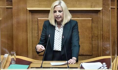 Φώφη Γεννηματά: Το «αντίο» της ΚΑΕ Παναθηναϊκός στην πρόεδρο του ΚΙΝΑΛ (pics)