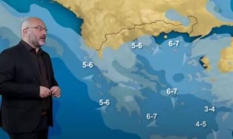 Αρναούτογλου: Με τι καιρό θα γίνουν οι παρελάσεις την 28η Οκτωβρίου - Πού θα βρέξει (vid)