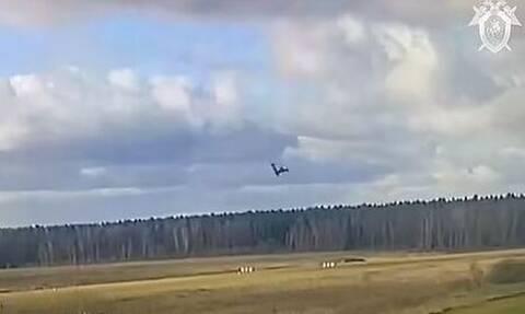 Ρωσία: Η στιγμή της συντριβής αεροσκάφους επιχειρηματία μπροστά στα μάτια των εγγονών του