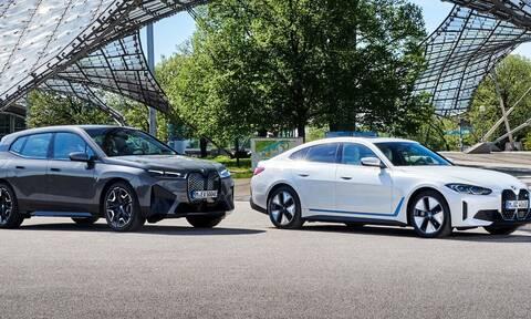 Οι BMW i4 και iX είναι ηλεκτρικά νέας γενιάς