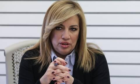 Φώφη Γεννηματά: «Δεν περιμέναμε αυτή τη ραγδαία επιδείνωση σε ένα 24ωρο»