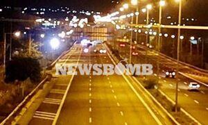 Ένταση στα Μέγαρα – Έκλεισε η Εθνική Οδός Αθηνών- Κορίνθου