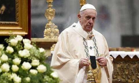Πάπας Φραγκίσκος: Αρχές Δεκεμβρίου η επίσκεψή του στην Ελλάδα