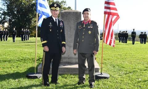 Στις ΗΠΑ ο Αρχηγός ΓΕΣ, Αντιστράτηγος Χαράλαμπος Λαλούσης - Οι εξαιρετικά σημαντικές επαφές του