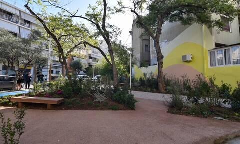 Στα Πατήσια το 8ο πάρκο «τσέπης» στην Αθήνα