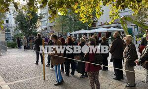Κηδεία Φώφη Γεννηματά: Πλήθος κόσμου έξω από τη Μητρόπολη