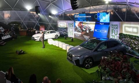 Οι νέες αμιγώς ηλεκτρικές BMW iX και BMW i4 παρουσιάστηκαν για πρώτη φορά στην Ελλάδα