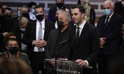 ΚΙΝΑΛ: Το «καρφί» του Μανώλη Χριστοδουλάκη για Παπανδρέου - Λοβέρδο στην κηδεία της Φώφης