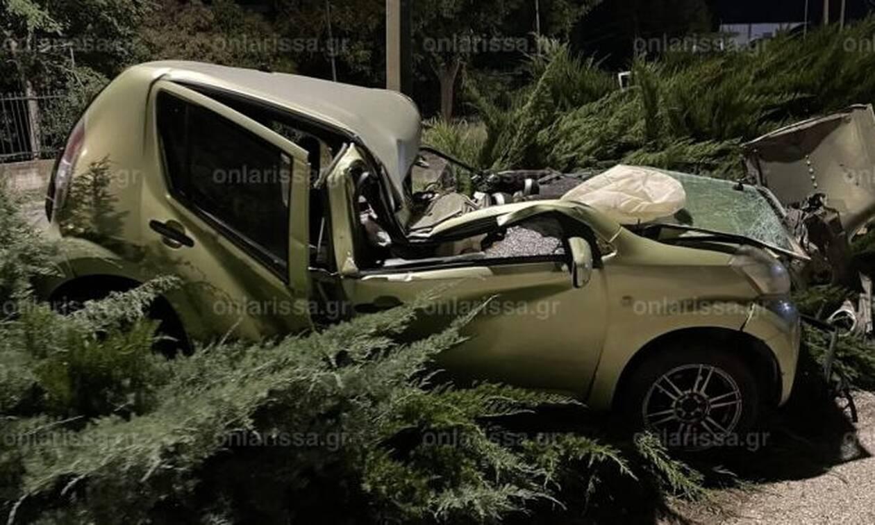 Τραγικό δυστύχημα έξω από τη Λάρισα - Νεκρός ένας άντρας